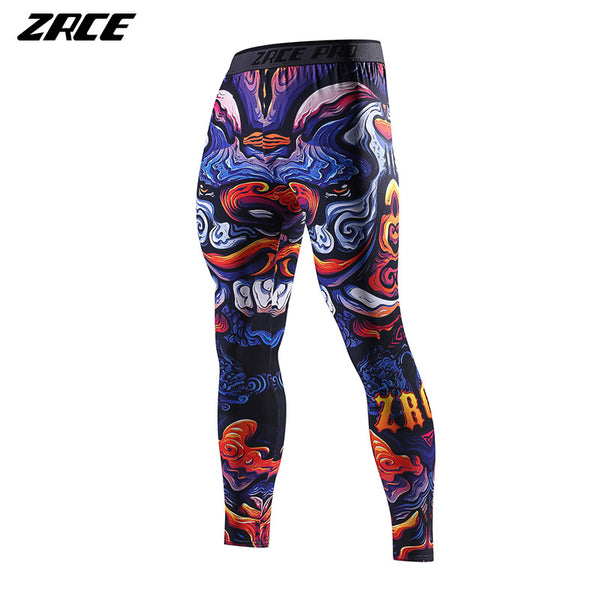 Training Pants Men Polyester swimming Basketball Training Gym Sport Skinny Male Joggers Swimming Pants