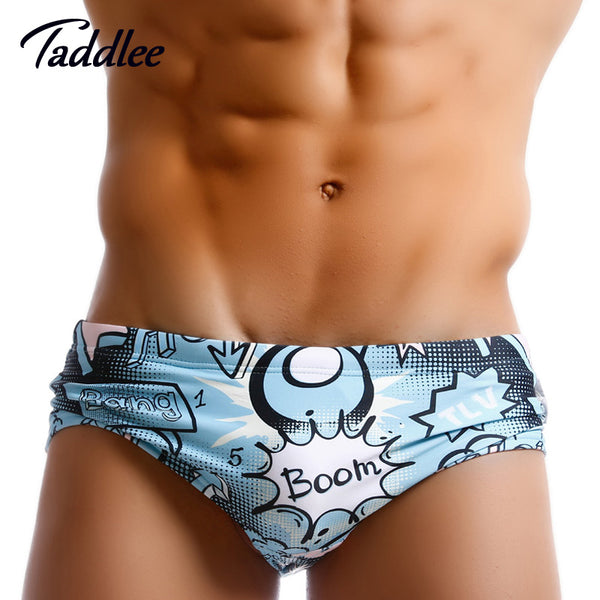 Men Swimsuits Brief Swimwear Bikini Men's Swimming Boxer Trunks Surf