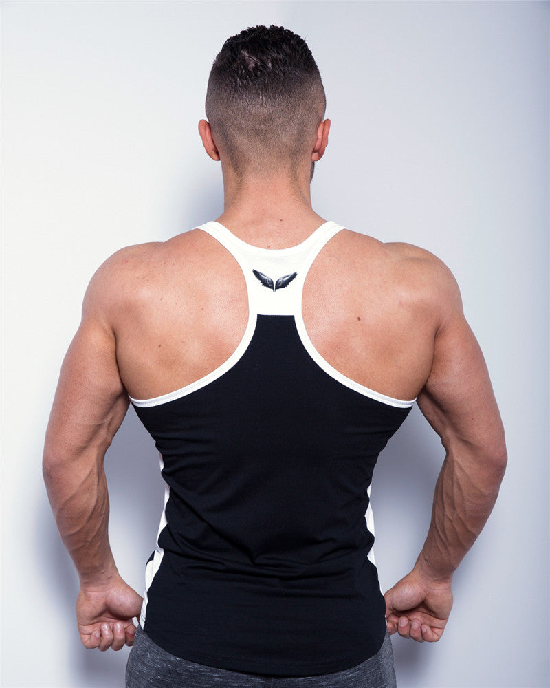 bodybuilding clothing and fitness men undershirt tank tops tops Casual