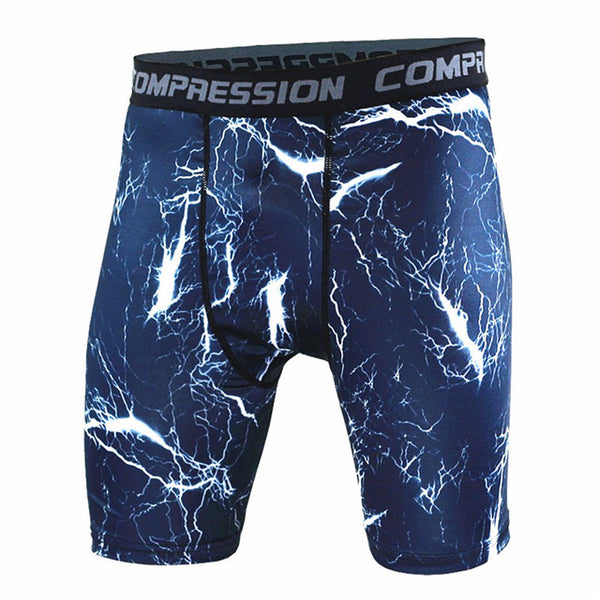 Summer Camouflag Compression Tights Shorts Fitness