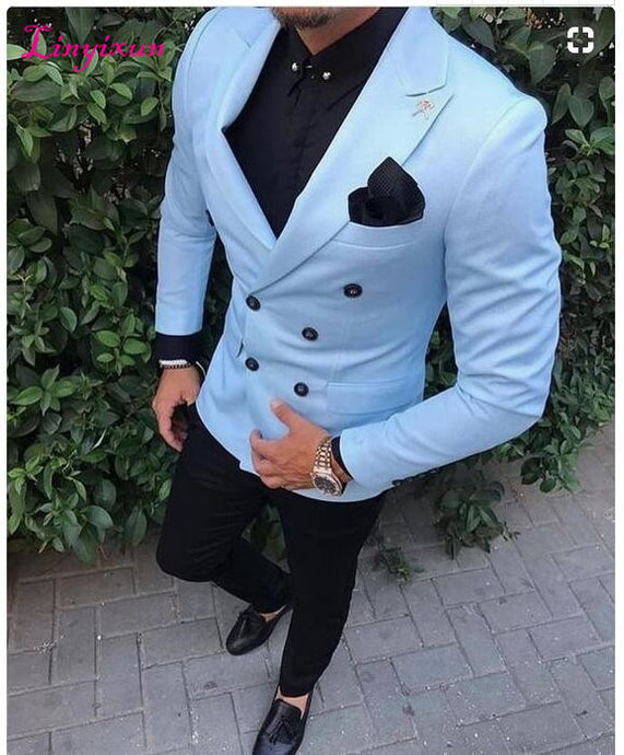 Wedding Prom Suits For Men Slim Fit Blazer – menstights