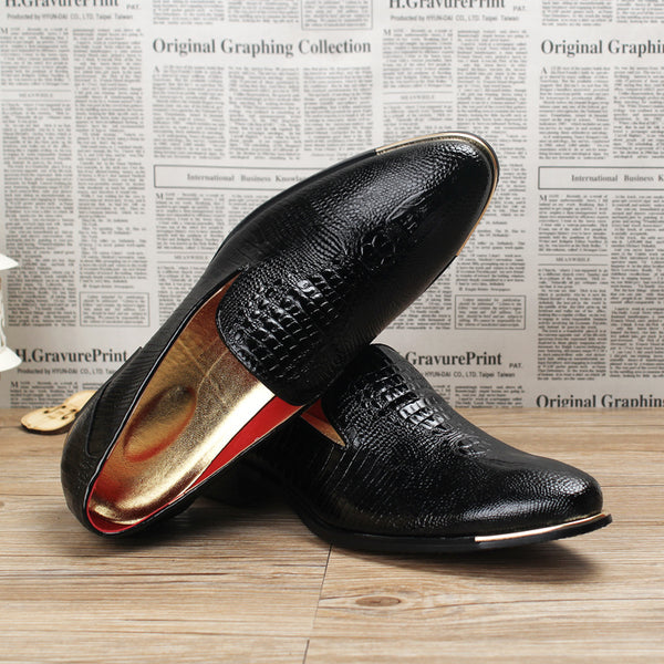 Luxury Shoes For Mens Pointed Toe Dress Shoes Italian men formal leather