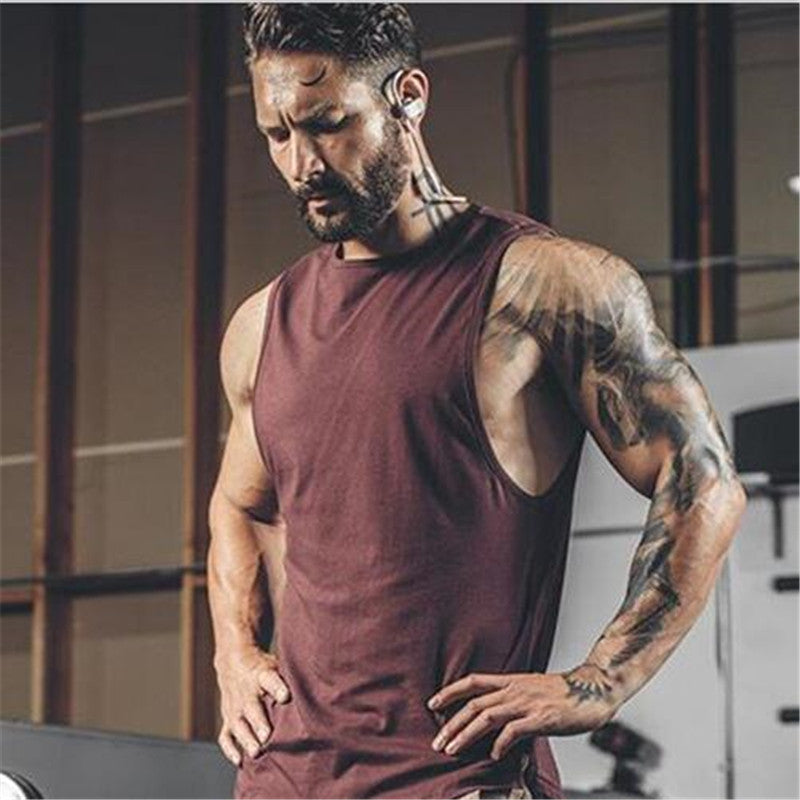Men Tank Tops Summer Male Bodybuilding