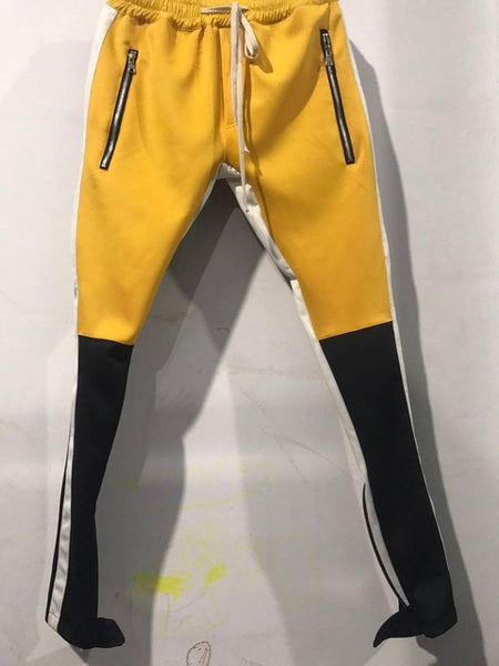 Men's Pants with Leg Opening Zipper Streetwear