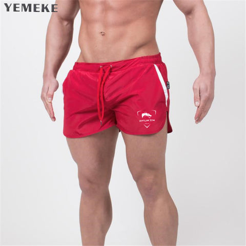 Mens Brand Jogger Sporting Shorts Slimming Men Black Bodybuilding Short Pants Male Fitness Gyms Shorts for workout
