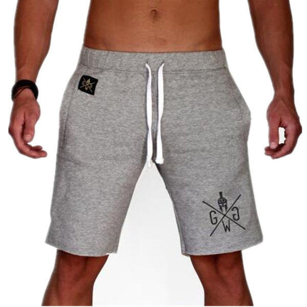 Men's Casual Summer Shorts Sexy Sweatpants Male Fitness Bodybuilding Workout Man Fashion Crossfit Short pant Brand Clothing