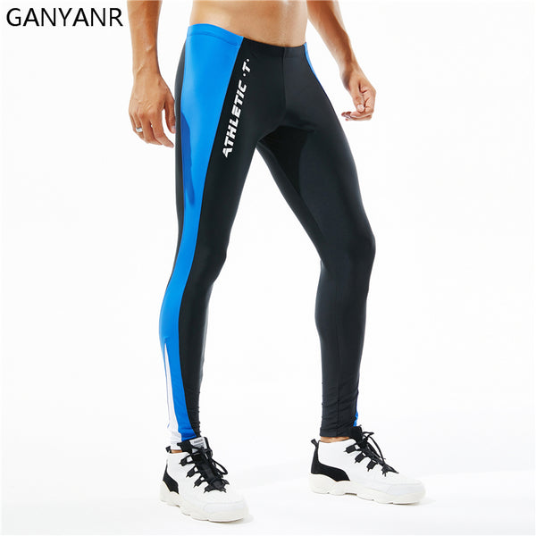 Running Tights Men Sports Legging Fitness Yoga Basketball Compression Athletic Long Bodybuilding Gym Jogging Pants Skins