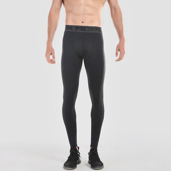 Compression Running Pants Mens Basketball Running Training Pants Gym Fitness Tights Quick Dry Jogging Running Leggings Pants