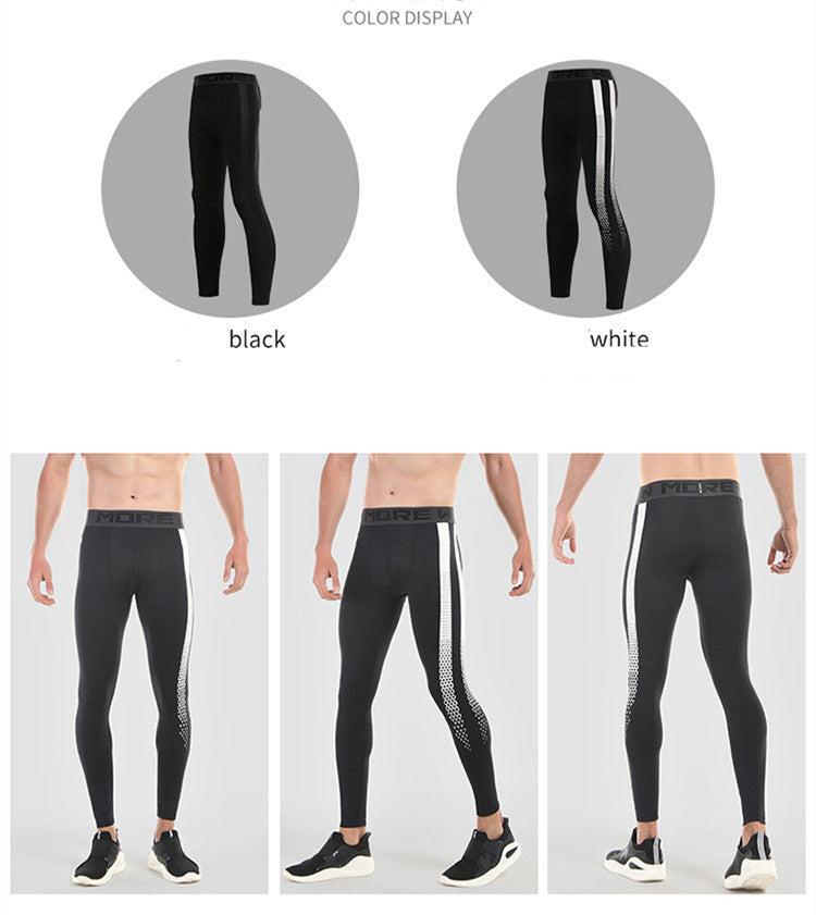 2006c01008def6 ... Compression Running Pants Mens Basketball Running Training Pants Gym  Fitness Tights Quick Dry Jogging Running Leggings ...