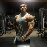 Bodybuilding Tank Top Men Gyms-Clothing Stringer Fitness Gyms Shirt Brand Clothing Muscle Workout Cotton Tank Top