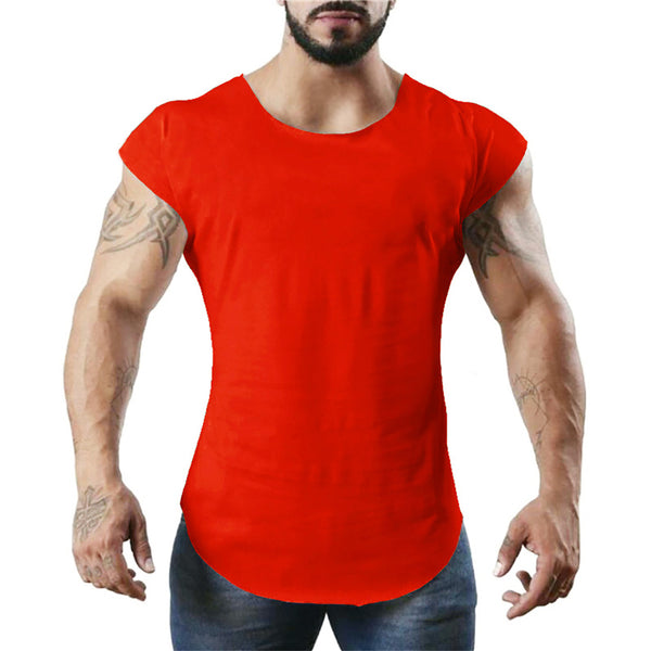 Brand Fitness Men Clothing Summer Gyms Tank Top Canotte Bodybuilding Sleeveless tshirt Solid Golds Muscle Vest male atlet
