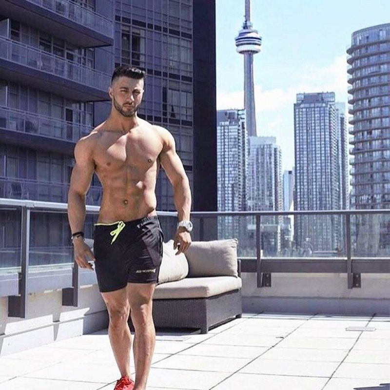 New Fashion Men Shorts compression Fast drying Bodybuilding Sweatpants Fitness BeachShorts Jogger Casual Gyms slim Men Shorts