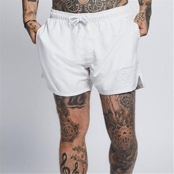 Fashion summer shorts men's cotton shorts men's breathable soft comfortable and pocket men's casual shorts