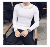 Sweaters For Men Slim Fit  Elegant Sweater