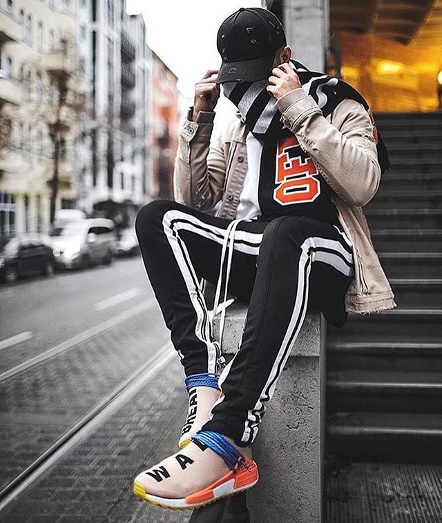 Autumn hip hop Mens Sportswear Pants Side Stripe zipper Jogger Pants Elastic Waist Vintage Casual Pants Streetwear