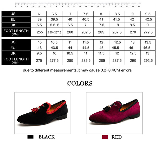 New Men's Loafers Moccasins Slip On Chinese style Leather Casual Shoes Male Black/Red Flats