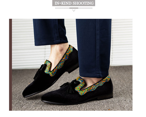 Men Loafers Brand Men Shoes Genuine Leather Moccasins Comfy Breathable Slip On Wedding And Party Shoes