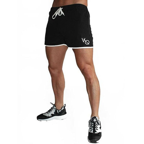 Mens shorts Calf-Length gyms Fitness Bodybuilding Casual Joggers workout Brand sporting short pants Sweatpants