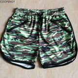 Brand Men Jogger Sweatpants Casual Trunks Men's Activewear Camouflage Shorts Man Short Bottoms Fashion
