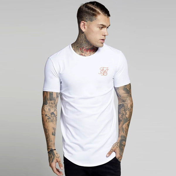 extend hip hop street T-shirt man wholesale fashion t shirts men summer  Kanye West Sik SilK short sleeve oversize pure color