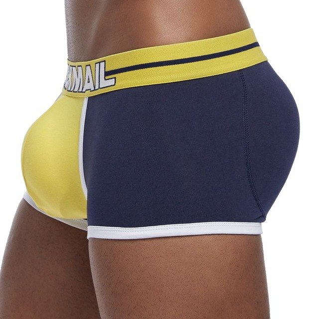 PADDED TECH PANTIES BUTT ENHANCER UNDERWEAR FOR MENS