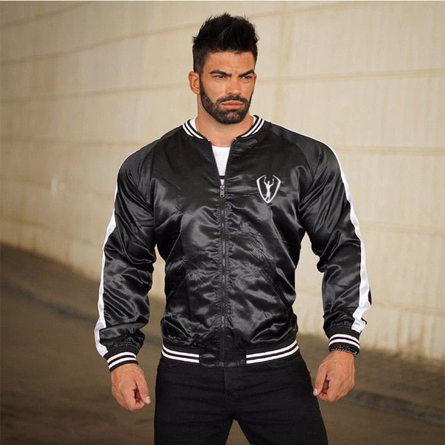Mens Casual Hoodies Fashion stitching Brand Clothing Man's Slim Fit Hooded Sweatshirts Male Wear jacket