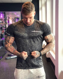 New Quick Dry Running Shirt Fitness Tight Soccer Jerseys Compression Top T-shirt Sport Shirt Men Crossfit Gym T Shirt Rashgard