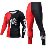 New arrival fashion Jogging training 2 piece tracksuit mens anti-pilling anti-fading gym clothing funny cosplay sets