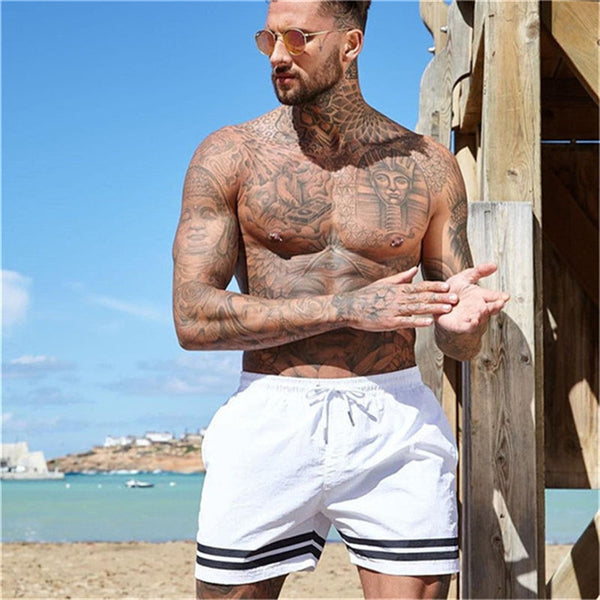 Mens shorts Calf-Length gyms Fitness Bodybuilding Casual Joggers workout Brand sporting shorts Men Sweatpants