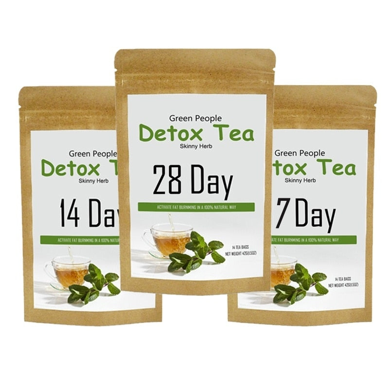 100% Pure Natural Detox Tea Bags Weight Loss Tea 7//14/28 days for Women and Men to keep health