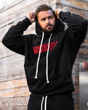 Men's Sets Fashion Sportswear Male Tracksuits Sets Men's Shark Hoodies+Pants Set casual Outwear Suits Sportswear