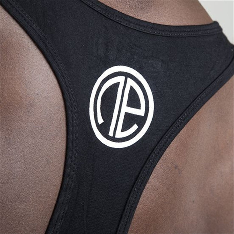 gyms Brand singlet canotte bodybuilding stringer tank top men fitness vest muscle guys sleeveless vest