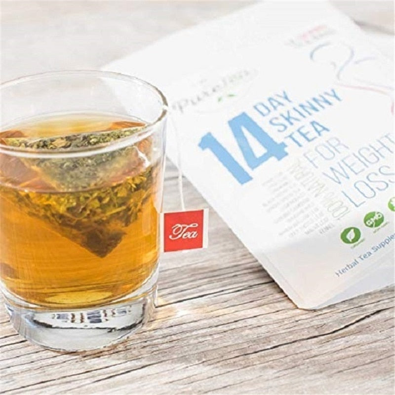 Green People Detox Tea 7/14/28 Days Herbal Thin Belly Tea Crude Effective Fat Burner Skinny Slimming Tea Weight Loss Tea