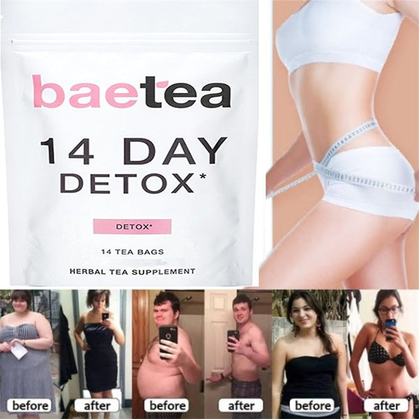 Women Detox Tea Weight Loss Tea 100% Natural Appetite Suppressant 7/14/28 Days Health Slim Plan