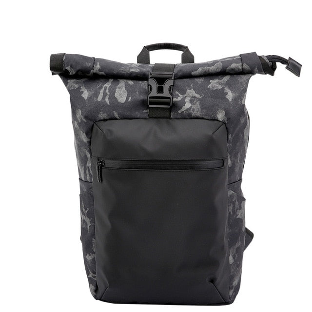Anti-Theft Waterproof Camouflage Printing Men Backpacks Laptop Buckle Women Back Pack Travel Bagpack School Bag for Boys