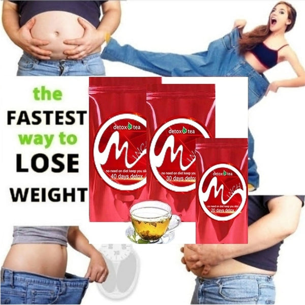 Gentle Diet Detox Tea Appetite Suppressant Reduce Bloating and Constipation 100% Natural Body Cleanse Women and Men Weight Loss