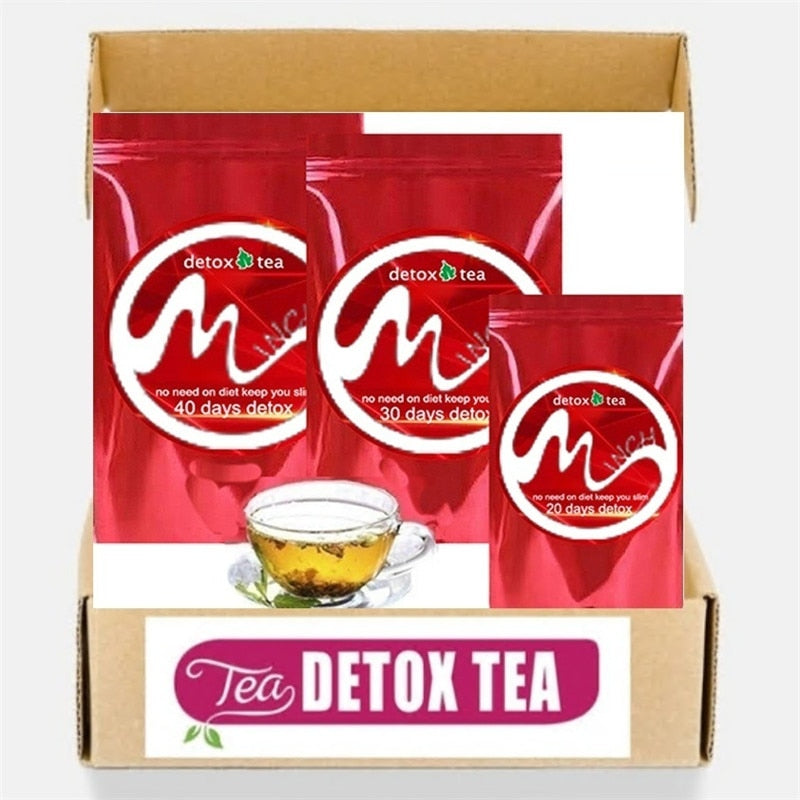 Gentle Diet Detox Tea Appetite Suppressant Reduce Bloating And