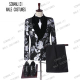 Wedding Suits For Men  Fashion Design Slim Fit Groom Wedding Dress Mens Double Breasted Suits Tuxedo Best Man Jacket