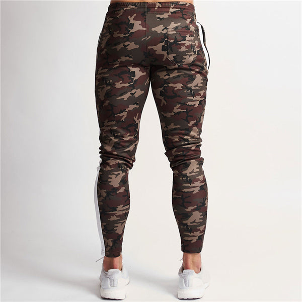Men's clothing men's fitness camouflage pants fashion men's Sweatpants jogger casual trousers gyms bodybuilding pants