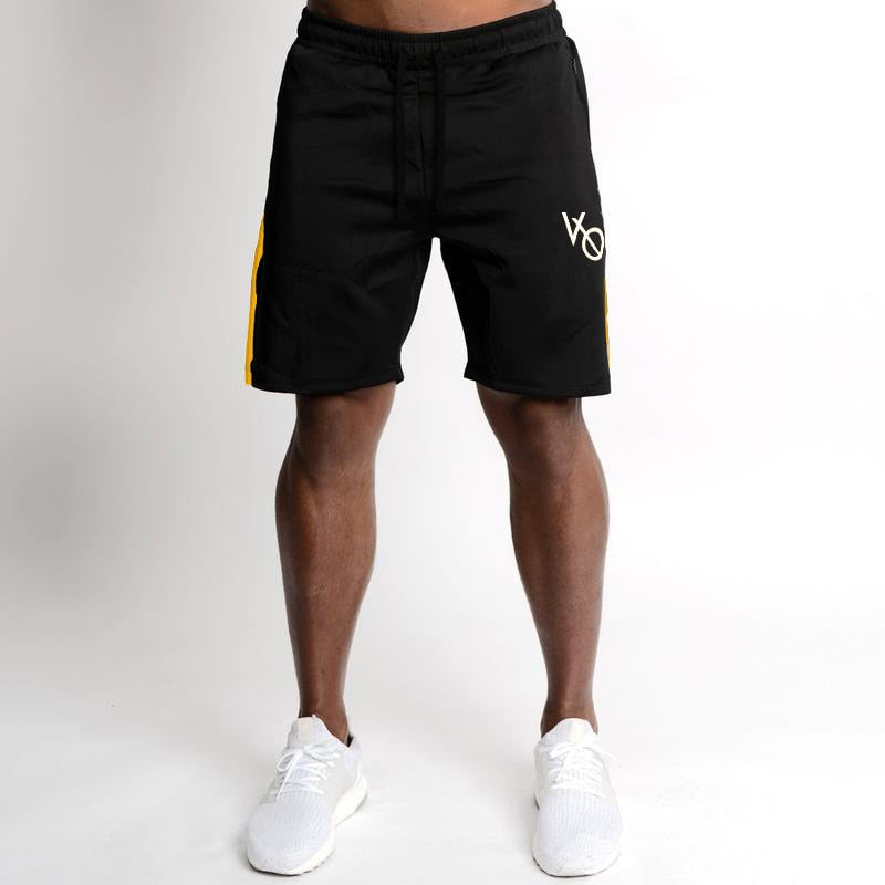 78cddd1af2a ... Mens Cotton Shorts Calf-Length Gyms Fitness Bodybuilding Casual Joggers  Workout Brand Sporting Shorts Sweatpants ...
