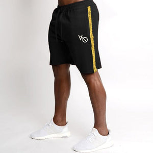 Mens Cotton Shorts Calf-Length Gyms Fitness Bodybuilding Casual Joggers Workout Brand Sporting Shorts Sweatpants Sportswear