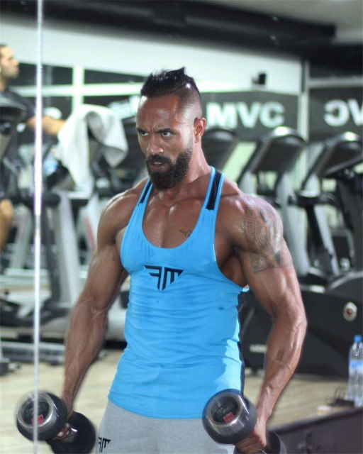mens sleeveless Tank Tops Summer Cotton men Tank Tops tops Bodybuilding Undershirt Fitness tank tops tees