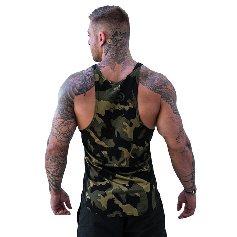 Tank Tops Men Brand Mens Sleeveless Shirts Summer Clothing Bodybuilding Undershirt Casual Fitness Tanktops Tees