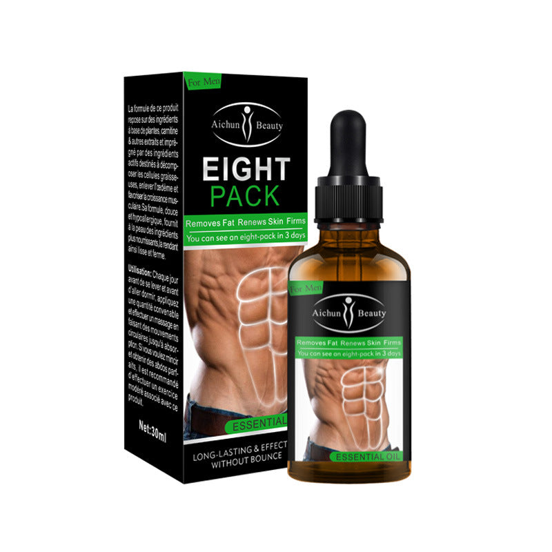 Abdominal Muscle Cream Essential Oil 30ML For Men Body Fat Reducing Gel Fat Burning Oil for Reducing Abdomen Weight Loss Product