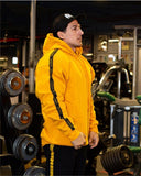 Hoodies Mens Bodybuilding Golds Gyms Clothing Slim Fit Sweatshirts Male Hooded Tracksuit Boys Pullover Sports top Jacket Coat