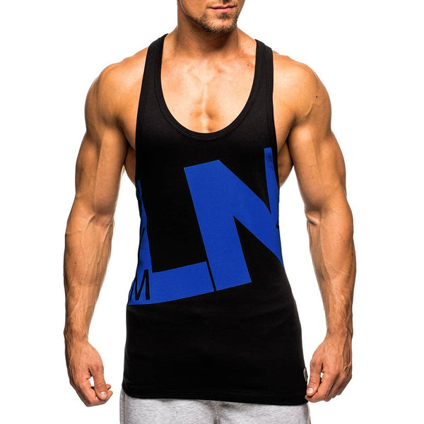 Men Tank Top Tee Shirts GYM Vest Sleeveless 2018 New Design Clothing Mens Bodybuilding Undershirt