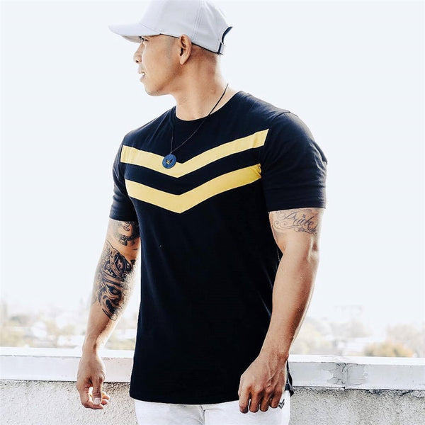 Men T-shirt Short Sleeves black white light blue Undershirt Male Solid Cotton Mens Tee Summer Jersey Brand Clothing Homme