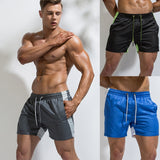 Swimwear Men Swimsuit Swimming Trunks Splice Quick Dry Sexy mens Swim Briefs Summer Beach Shorts Sunga Maillot De Bain
