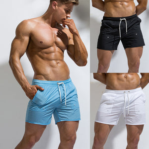 Swimsuit Men Swim Trunks beach Shorts Summer Boxer Man Swimwear Quick drying Swimming Briefs Surf Board Sunga Maillot De Bain