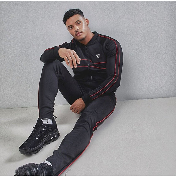 spring Autumn Men Sets Tracksuit Two Piece Sets Pullover Hoodies zipper Jacket+Pants men's Sportwear Suit Male Hoodies